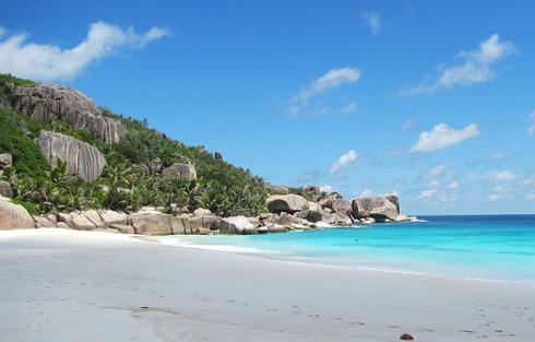 Seychelles fishing spin spot