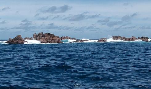 Seychellen angeln poppern Stelle