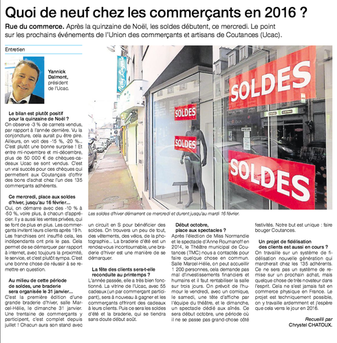 Ouest-France, 06/01/2016