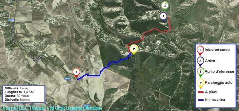 Non sai come arrivare a Tempa Petrolla? Visualizza la nostra mappa!