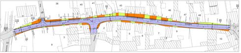 Entwurf zur Erneuerung der Hintergasse/ Quelle: Projektgruppe Bauschule Gotha