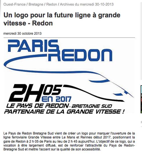Logo future ligne à grande vitesse