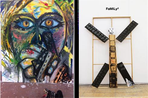 左:portrait /2014  右;FaMiLy/2014