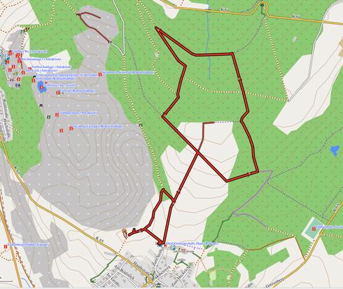 """GPXTrack """"5 km Schneckenwanderung"""""""