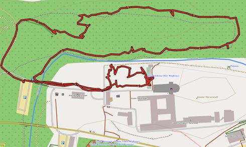 """GPXTrack """"3 km Auf dem Stein-Erlebnispfad"""""""