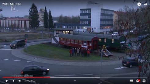 Bericht in der Hessenschau über den Modelleisenbahnclub Neu Isenburg (MECI) vom 26.12.2018
