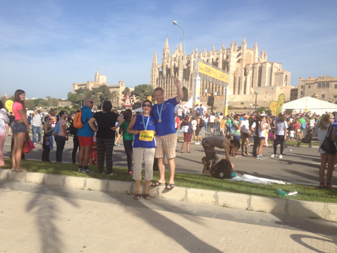 19.Oktober 2014 TUI Marathon Palme de Mallorca