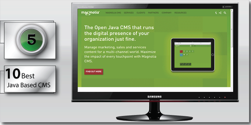 Magnolia comes in at number Five on the 10 best Java based CMS