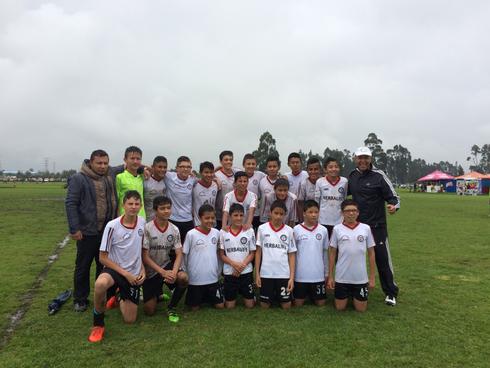 Equipo Infantil de San Pablo, a la final del Torneo de Maracaná, tras victoria 2-0 ante La Gaitana, Nov. 19/16