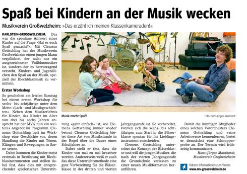 Lach- und Musikgeschichten, Unser Echo v. 18.05.2018