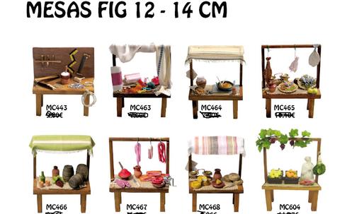mesas 12 y 14 cm