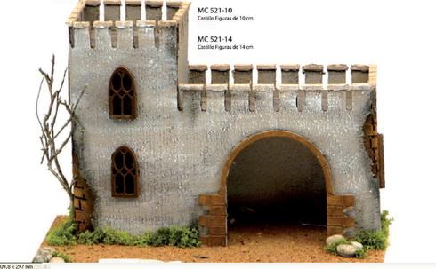 Castillos para el Belén