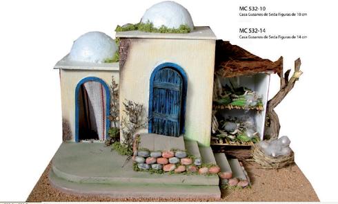 casa gusanos de seda