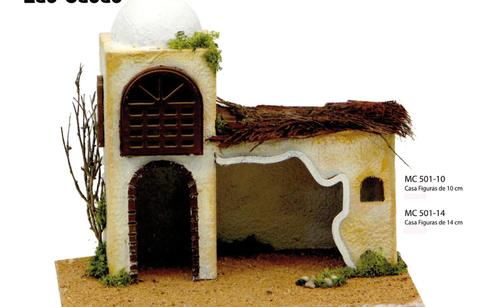 casas para el belen