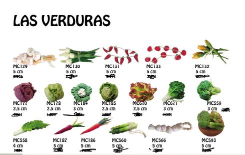 Verduras para el Belén