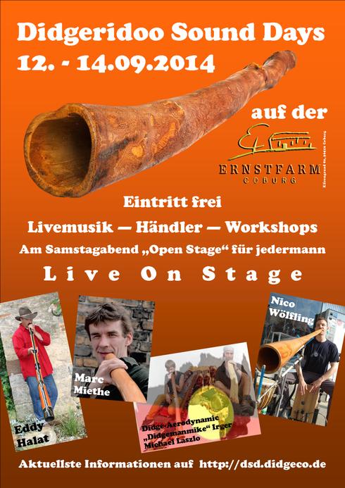 Didgeridoo Sound Days 2014