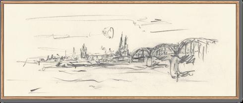 Köln Hohenzollernbrücke, Rolf Kullmann, KölnKunst