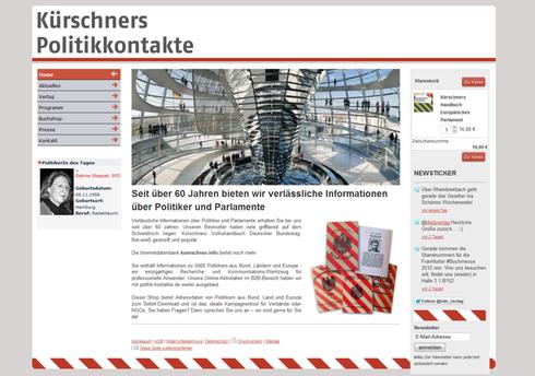 ndv.info | Kürschners Politikkontakte