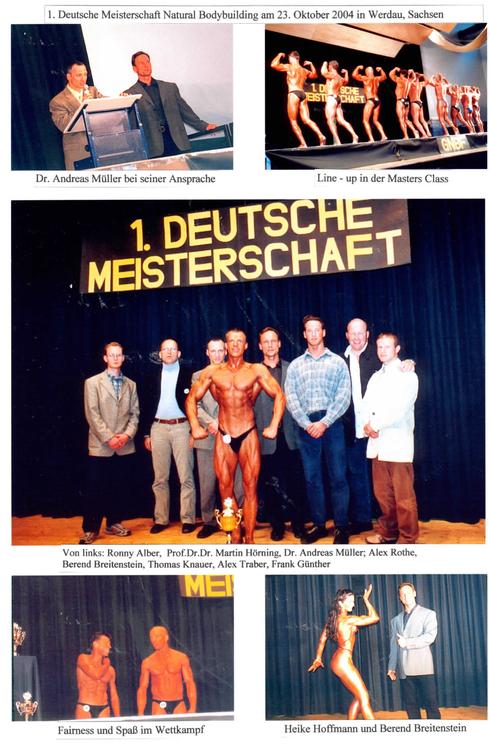 Fotos der 1. GNBF e.V. DM im Jahre 2004