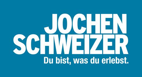 Jochen Schweizer Du bist was du erlebst Erlebnis-Gutscheine Logo