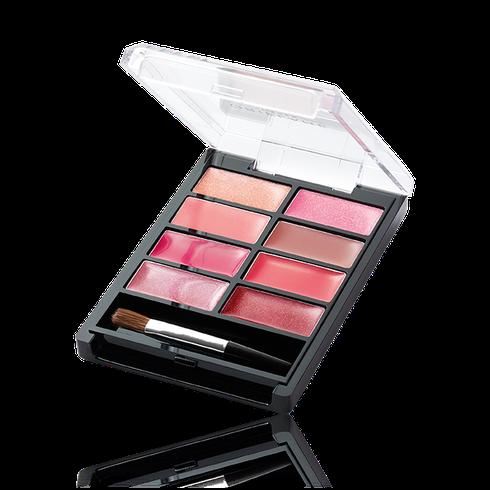 paleta de labios oriflame
