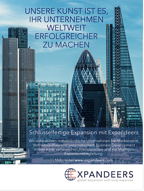 Expandeers Business Development and Marketing Advert