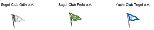 Vereine der Segel-Gemeinschaft-Südufer Tegel e. V. (SGST)