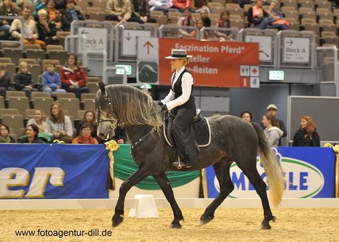 """Anubis auf der Messe Consumenta """"Faszination Pferd"""" in Nürnberg"""