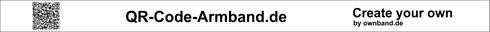 QR-Code-Armband.de Beispiel Design bei ownband.de