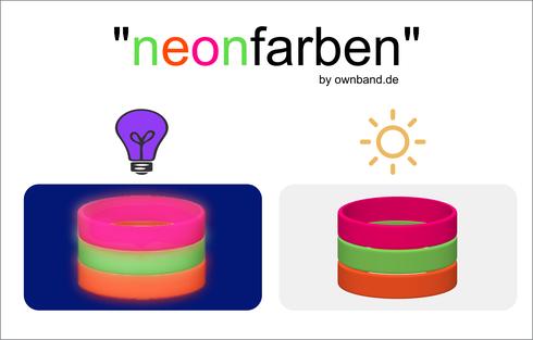 ownband Neonfarben