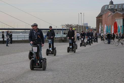 Burgplatz Düsseldorf Segway Tour