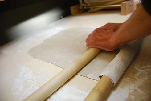 手打ち十割蕎麦やお料理はもちろん、天然酵母パン、お豆腐やお茶菓子に至るまでひとつひとつ手作り
