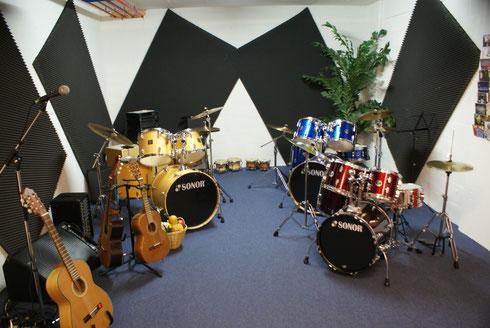 Schlagzeug Unterrichtsraum, Zürichstr, 66, Luzern