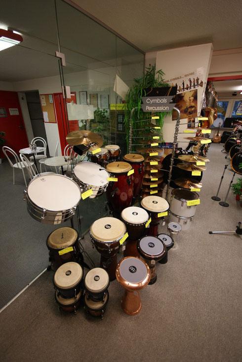 Musikinstrumente, Daraboukas, Cajon, Congas, Timbales, Bongos
