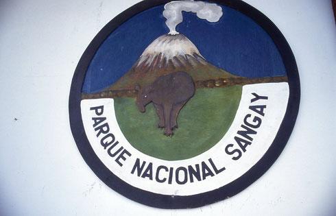 Nationalpark Sangay mit dem aktiven Vulkan Sangay, Ecuador