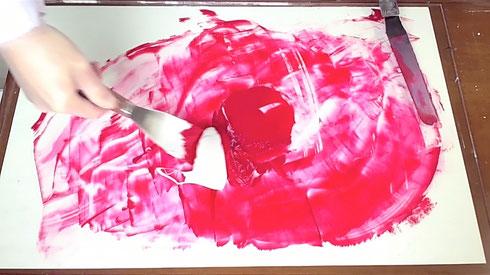 アクリル絵具の作り方-5 How to make acrylic color
