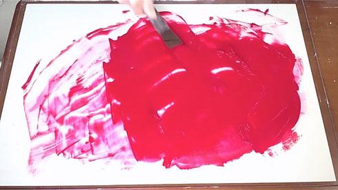 アクリル絵具の作り方-4 How to make acrylic color