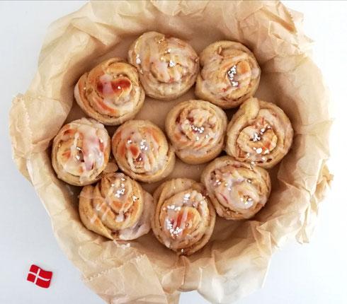 Dänische Pølsehorn (Würstchen im Teigmantel), Rezept von HyggeBo