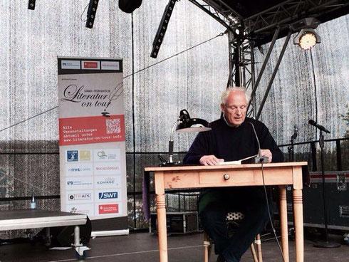 Rolf Ersfeld liest beim 2. Saar-Hunsrück-Literatur- und Musikfestival