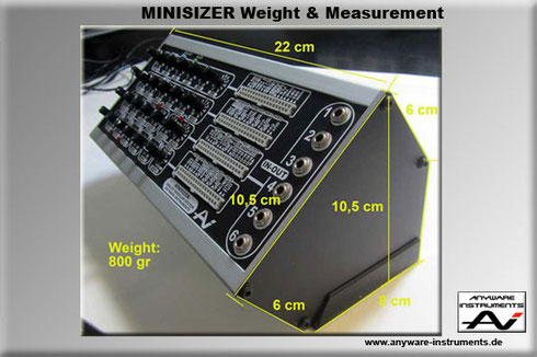 MINISIZER Weight&Measurement