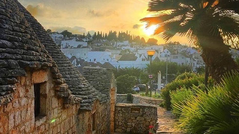 Alberobello und die Trulli Häuser