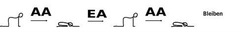 Strichmännchen Yogasequenz