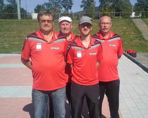 Landkreismeisterschaft Herren Sommer 2015 im Eisstock