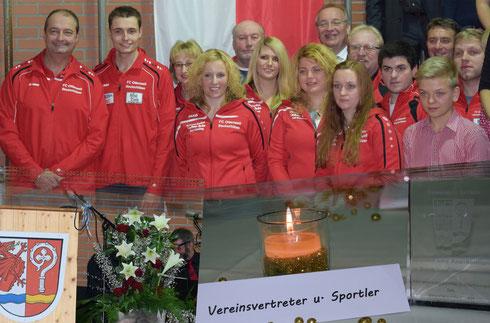Ehrung FC Ottenzell - Neujahresempfang Gemeinde Arrach