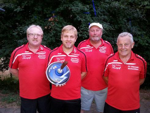 Pokalturnier Sommer 2015 SC Zell | fcottenzell-eisstock.de