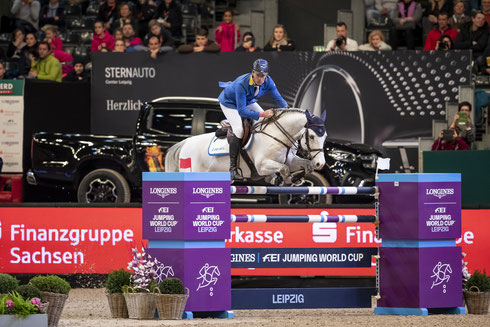 den Longines FEI Jumping World Cup™ presented by Sparkasse, Foto: Sportfotos-Lafrentz.de