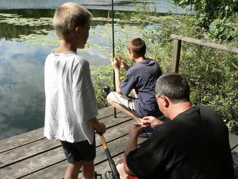 Rohrsee in Zwenzow, Müritz-Nationalpark, Urlaub, Ferienhaus, Angeln ohne Angelschein