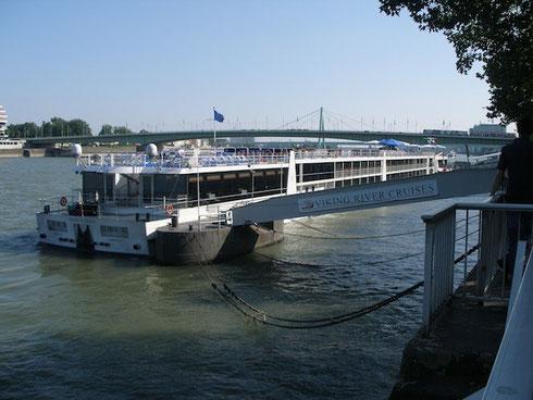 El Rin visto desde el paseo de Colonia