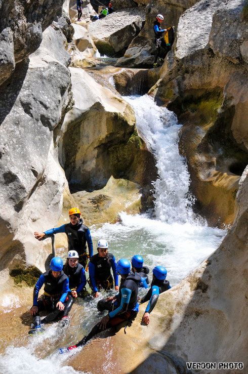 canyoning saint auban, canyoning verdon