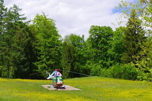 Hubschrauber von Siegfried Ulmer